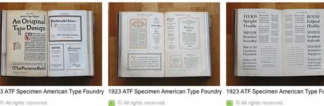 Fotoset zu Typografie aus den 20er Jahren