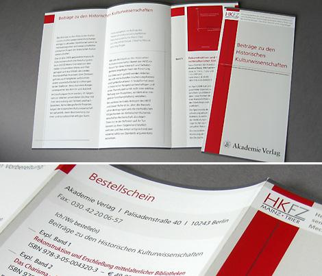 Arbeitsprobe _ Werbeflyer kulturwissenschaftliche Buchreihe