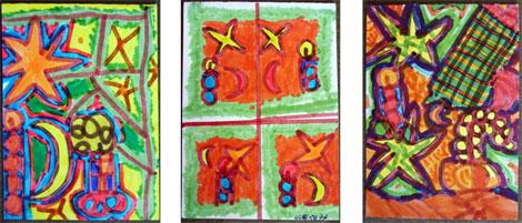 Weihnachtskartenmotive Nr.1 by Ulrike Dores von 1976