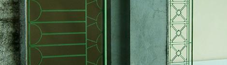 Balkongitter-Muster