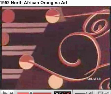 orangina-commercial aus den 50ern ansehen