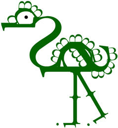 Buchstaben_Bird aus Bembos Zoo