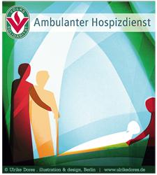 Arbeitsbeispiel Bildmarke bzw. Logo Ambulanter Hospizdienst der Volkssolidarität